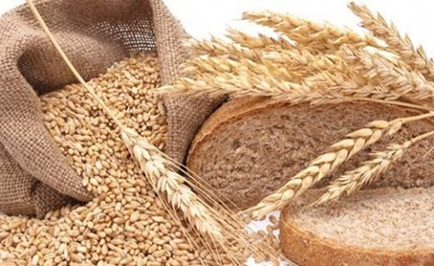 Wheat prices in Ukraine fall behind the world