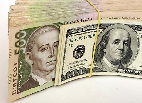 The hryvnia strengthened on the interbank market